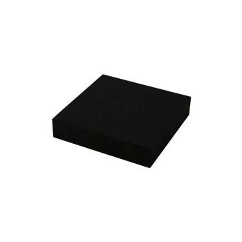送料無料 超定番 GR20-10 即日出荷 ゴムブロック 黒 20×100×100mm 同梱不可 代引不可 ラッピング不可 781587