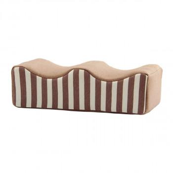 送料無料 フィット足枕 約45×25cm ブラウン 9370959 同梱不可 買物 ラッピング不可 時間指定不可 代引不可