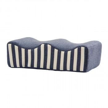 超安い 送料無料 フィット足枕 約45×25cm ネイビー ラッピング不可 定番スタイル 同梱不可 9371059 代引不可