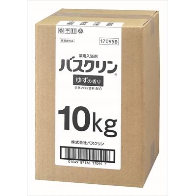 業務用10KG缶バスクリン ゆずの香り [キャンセル・変更・返品不可]
