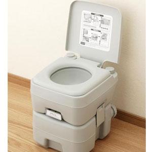 本格派ポータブル水洗トイレ20L [キャンセル・変更・返品不可]