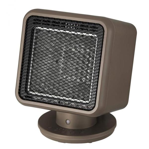 人感センサー付 リフレクトヒーター「コアビーム」 ブラウン RH-T1838BR [キャンセル・変更・返品不可]