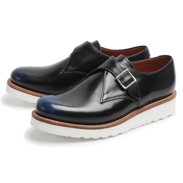 [グレンソン] 5318 ナサニエル モンクストラップ 紳士靴 シューズ 全2色 メンズ [キャンセル・変更・返品不可]