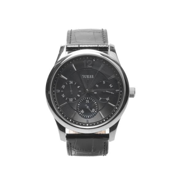 [ゲス ウォッチ] S) W0475 G1 G2 ゲス 腕時計 アセット アナログ クオーツ 全2色 メンズ [キャンセル・変更・返品不可]