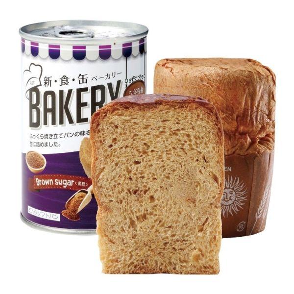 メール便発送も可能 最大1個まで 新 食 缶ベーカリー 缶入りソフトパン 人気 いつでも送料無料 キャンセル 変更 黒糖100g 返品不可 5年保存 321212