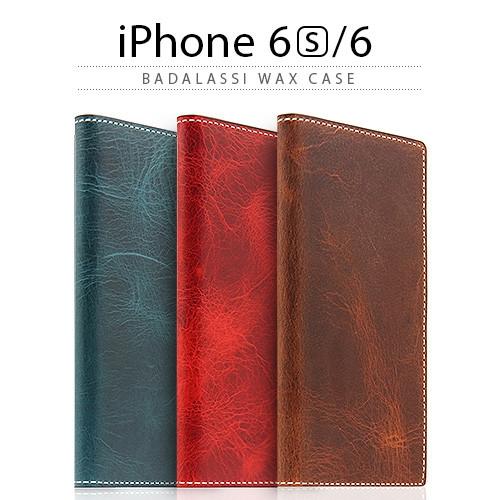 [iPhone6/6s ケース] 手帳型 SLG Design Badalassi Wax case(バダラッシワックスケース) [キャンセル・変更・返品不可]