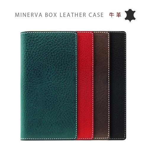 [iPhone XS/Xケース] [本革] Minerva Box Leather Case (ミネルバボックスレザーケース) [キャンセル・変更・返品不可]