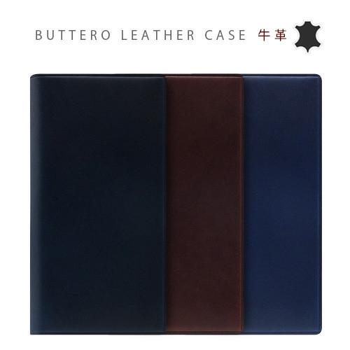 [iPhone XS/Xケース] [本革] Buttero Leather Case (ブッテーロレザーダイアリー) [キャンセル・変更・返品不可]