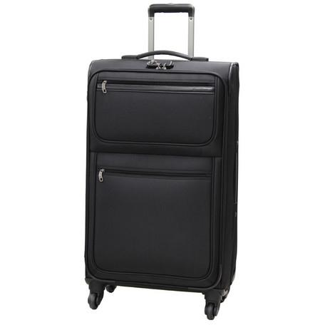 【キャリーケース Lサイズ TSAロック パンビーヌ HG-A3 ブラック HG-A3L】[返品・交換・キャンセル不可]