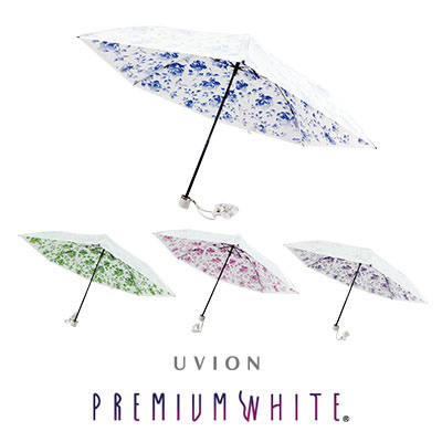 UVION 3930 プレミアムホワイト50ミニカーボン ネージュローズ柄 [キャンセル・変更・返品不可]