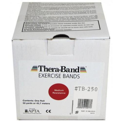 【セラバンド 50ヤード #TB-250 レッド】[返品・交換・キャンセル不可]