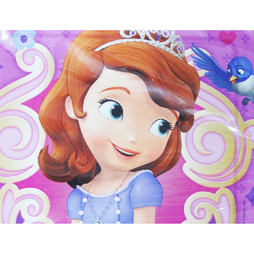Little Princess Sophia square paper plates S 8PC Yu packets allowed 11369 k Sofia the First paper plate food importing party toy imports  sc 1 st  Rakuten & Character Zakka Shop Pretzel | Rakuten Global Market: Little ...