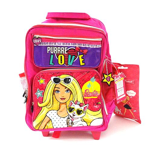 バービー Barbie KITTEN ローリングバックパック 11874 キャリーバッグ リュック リュックサック 鞄 かばん 猫 子猫 ピンク 海外 輸入品 インポート メール便不可【ds】