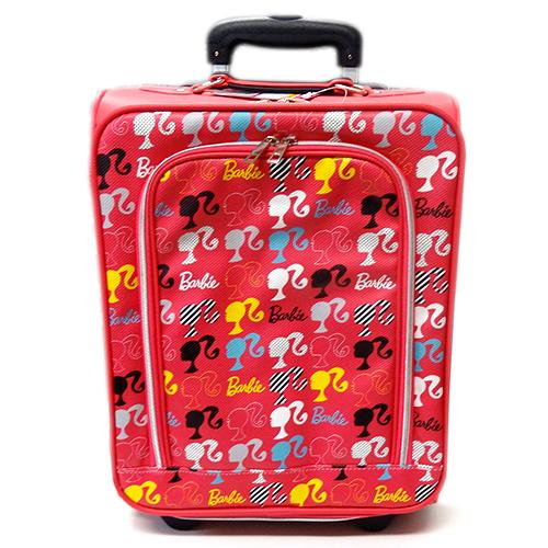 バービー Barbie キャリーバッグ 12436 タイヤ付きバッグ 鞄 かばん メール便不可