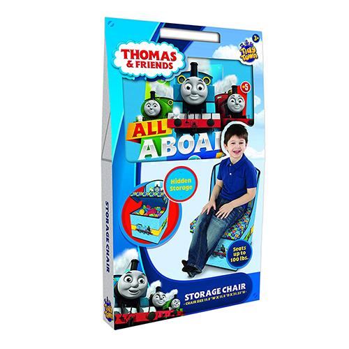 きかんしゃトーマス ストレージボックスチェアー イス 椅子 Thomas Storage Chair 収納できるイス いす おもちゃ箱 キャラクター雑貨 チェア キャラクターグッズ 子供部屋 インテリア 買い付け品 THOMAS 13094
