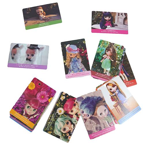お見舞い ブライス人形のかわいいグッズ Blythe ブライス ラッキーカード お歳暮 CW001 占いカード かわいい 人形 女の子 メール便配送 メッセージ