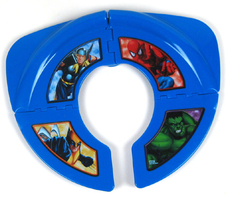 Spiderman MARVEL Marvel travel potty