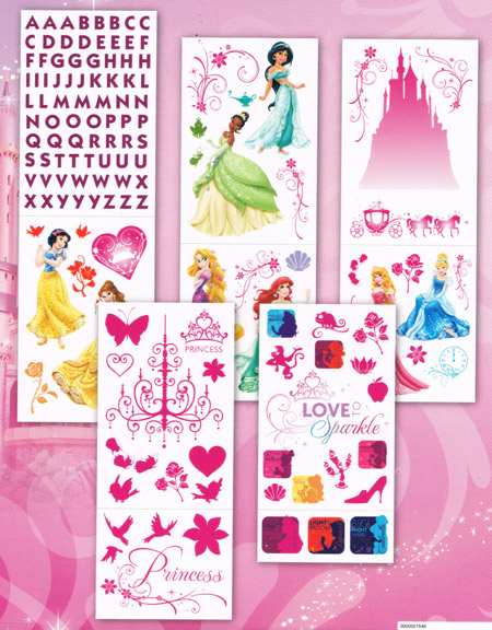 Disney Princess wall sticker accent RoomScapes