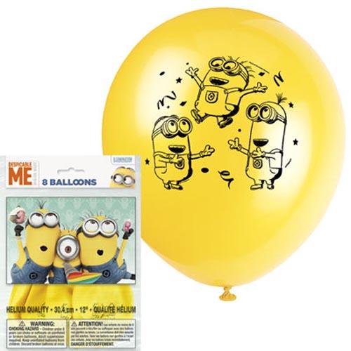 Minion 8 pc balloon 10865 k