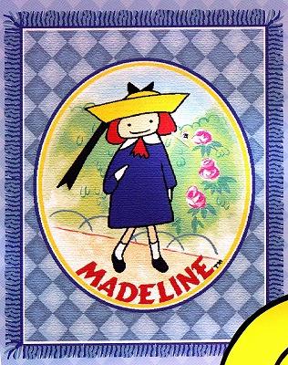 マドレーヌちゃんのタペストリーです。120 X 150cmマドレーヌ Madeline タペストリースロー  インポート 輸入 グッズ  メール便不可【ssoff】