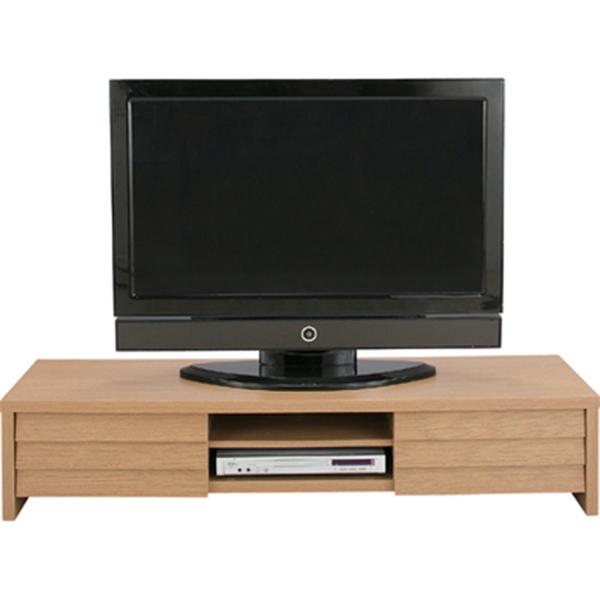 ロングサイズ テレビボード LE-455 送料無料 テレビ台 ナチュラルブラウン 天然木 TVボード 木製 木目 北欧 アンティーク インテリア ナチュラルテイスト かわいい シンプル