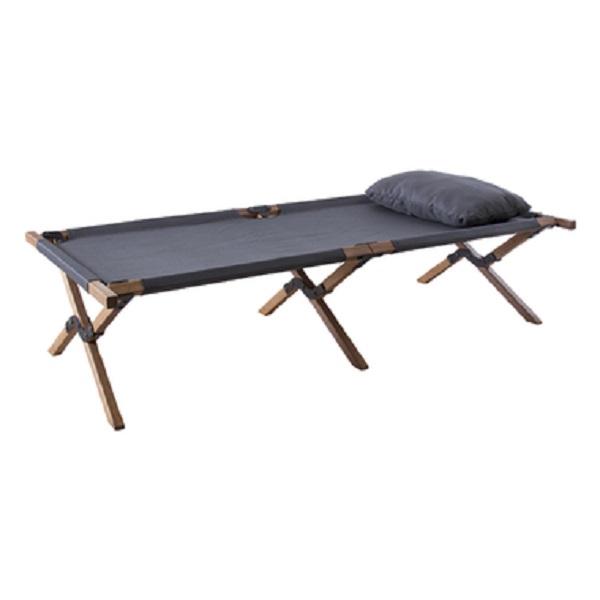 フォールディングベッド NX-935 簡易ベッド キャンピングベッド 折りたたみ 持ち運び 収納袋 キャンプ BBQ リゾート ベランダ 庭 ビーチ 送料無料
