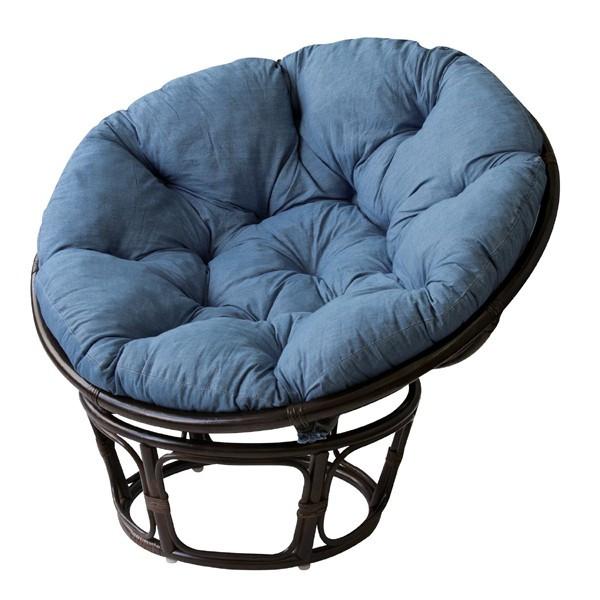 椅子 一人掛け マシュー NS-527 送料無料 座椅子 座いす 座イス チェア ソファ 東谷 デニム ブルー カジュアル おしゃれ