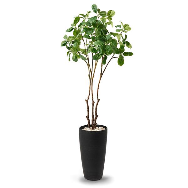 【39ショップ】【送料無料ライン対応】フェイクグリーン 大型 人工観葉植物 造花 マグノリアリーフ リバーロック ウッドチップ エコストーン TPプランター GREENPARK |
