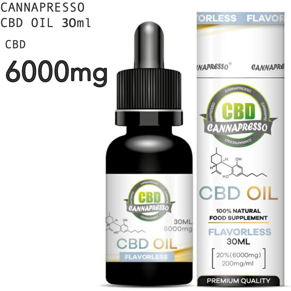 CBD オイル CBD6000mg 30ml 20% CANNAPRESSO カンナプレッソ純度99% OIL 高濃度 cbd oil cbdオイル MCTオイル Cannabis Hemp ヘンプ カンナビジオール CBDOIL 高濃度CBDオイル リラクゼーション パウダー 超激安 不眠 リラックス テルペン 高純度 超安い サプリ おすすめ CBDオイル MCT 6000mg Cbd