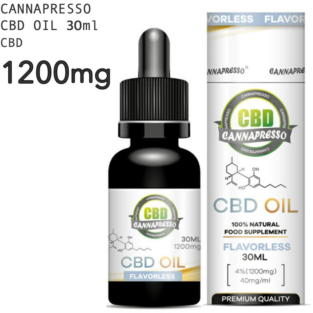 CBD オイル CBD1200mg 30ml 4% CANNAPRESSO カンナプレッソ純度99% OIL 高濃度 cbd oil cbdオイル MCTオイル Cannabis Hemp ヘンプ 全品最安値に挑戦 不眠 Cbd 高濃度CBDオイル パウダー CBDOIL テルペン おすすめ リラックス カンナビジオール 1200mg MCT CBDオイル 高純度 激安 激安特価 送料無料 リラクゼーション サプリ