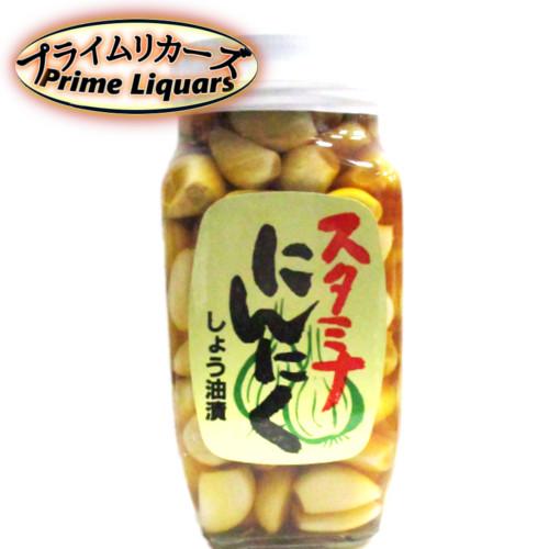 にんにくの食感を生かし ランキングTOP5 醤油味にしました 須坂食品 スーパーSALE セール期間限定 スタミナにんにくしょう油漬け 400g