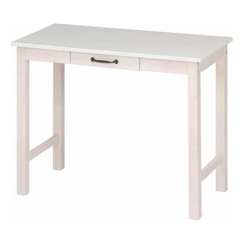 【送料無料_c】デスク マンチェスター WHW |  机 つくえ テーブル 台 デスク スタイリッシュ ホワイト 白