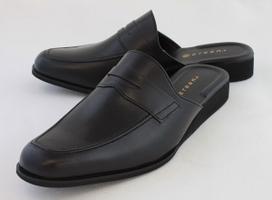ビジネススリッパ ローファータイプ【本革製】皮靴に見えるスリッパ。弁護士・社長・政治家に大人気 送料無料【SG便利・時短・アイディア】