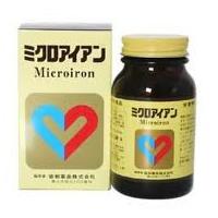ミクロアイアン 300粒/ヘム鉄/2粒中にヘム鉄78mgを配合した栄養補助食品(サプリメント)