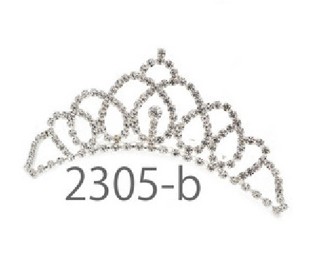 卸直営 キラキラティアラ ラインストーンのコームティアラLサイズ 2305-b 期間限定で特別価格 ウェディングアクセ ヘアアクセ 結婚式 ブライダルギフト 髪飾り