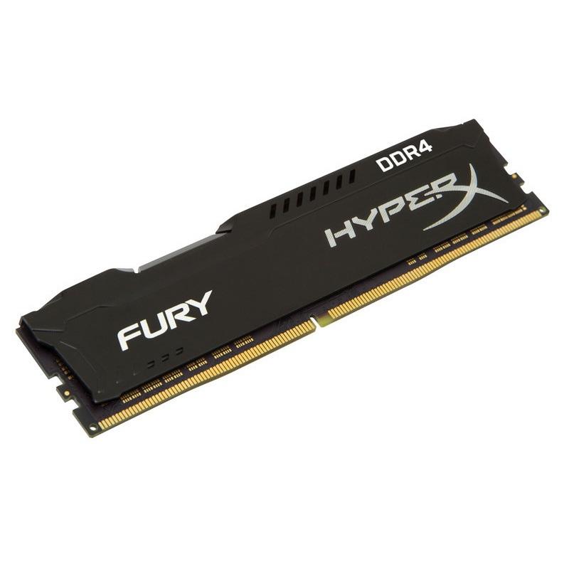 【全品ポイント2倍!】(在庫限り) キングストン HyperX FURY シリーズ 全3色 8GB 2400MHz DDR4 CL15 DIMM 288pin 1Rx8 HX424C15F2/8 クリスマスプレゼント