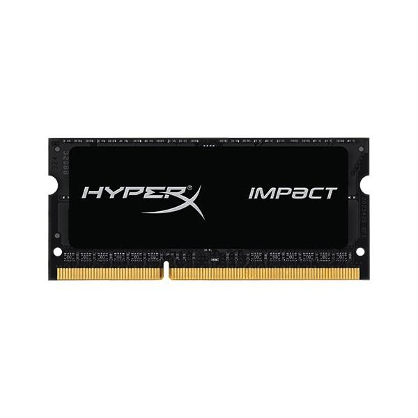 【全品ポイント2倍!】キングストン HyperX Impact 8GB 1600MHz DDR3L CL9 SODIMM 204pin 1.35V HX316LS9IB/8 クリスマスプレゼント