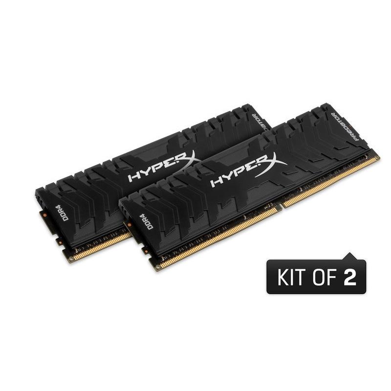 キングストン HyperX Predator 16GB(8GBx2枚組) 3600MHz DDR4 CL17 DIMM (Kit of 2) XMP HX436C17PB3K2/16