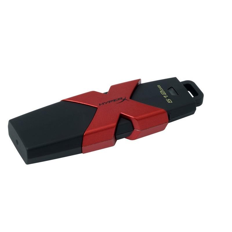 【全品ポイント2倍!】キングストン HyperX Savage USBドライブ 512GB・USB3.1 Gen1(USB 3.0) HXS3/512GB クリスマスプレゼント