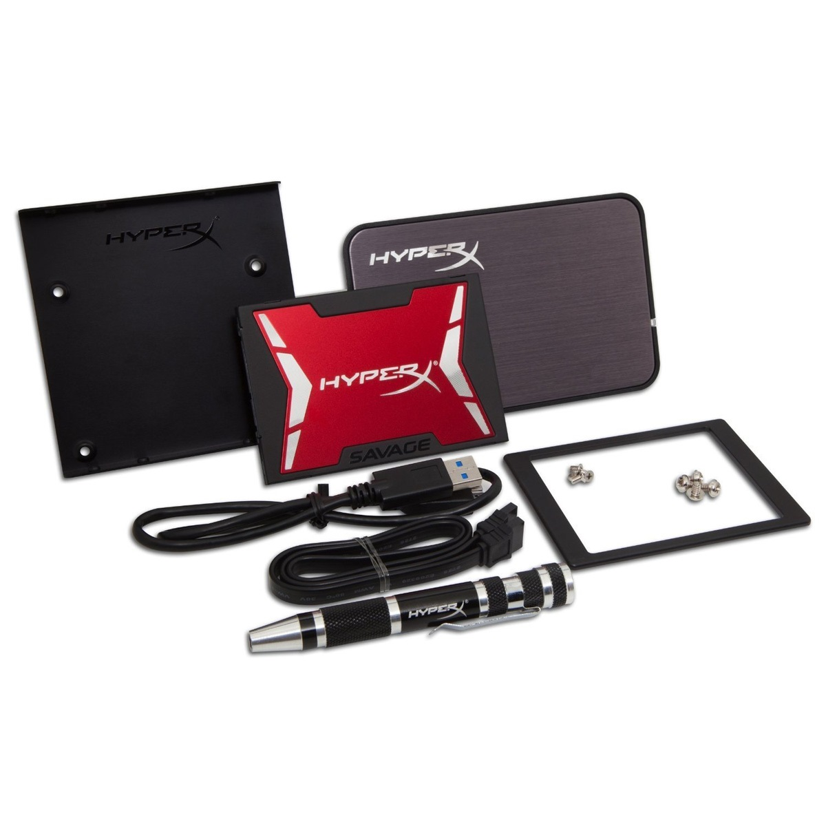 【全品ポイント2倍!】キングストン HyperX Savage SSD インストールキット付属 960GB・2.5インチ SATA 3 SHSS3B7A/960G クリスマスプレゼント