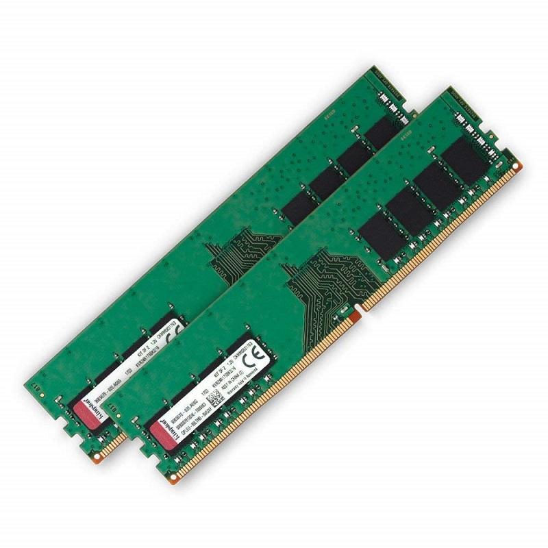 【全品ポイント2倍!】【メーカー取り寄せ】 キングストン 増設メモリ 16GB(8GB×2枚組) 2400MHz DDR4 Non-ECC CL17 DIMM (Kit of 2) 1Rx8 KVR24N17S8K2/16 製品寿命期間保証 Kingston