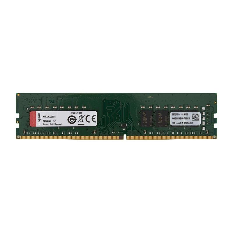 キングストン 増設メモリ 16GB 3200MHz DDR4 Non-ECC CL22 DIMM 2Rx8 KVR32N22D8/16 製品寿命期間保証 Kingston