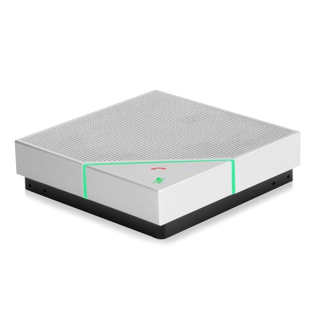 POLYCOM(ポリコム) ポータブルスピーカーフォン VoxBox Bluetooth/USB接続対応 PPVB スピーカーフォン マイク マイクスピーカーワイヤレススピーカー ハンズフリー スマホ タブレット デジタルマイクロフォン テレワーク
