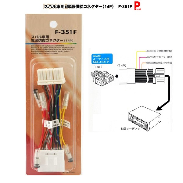 prinet-kyoto: Subaru car power supply connector and power