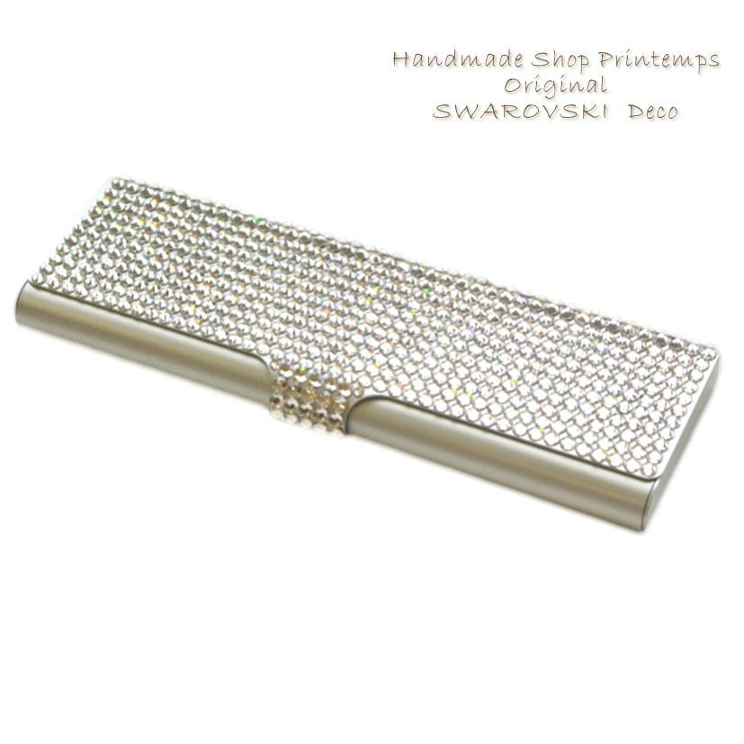 printemps410  SWAROVSKI one Color pen case pencil case pen case ... 6eeeaa55db77