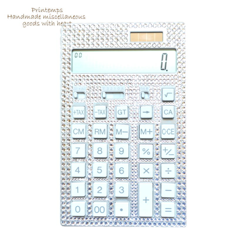 SWAROVSKI 電卓 計算機 カルキュレータ 12桁 LLサイズ ギフトラッピング無料