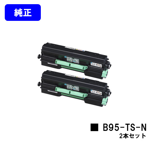 B9500】 カシオ(CASIO) B95-TS-Nお買い得2本セット【純正品】【翌営業日出荷】【送料無料】【SPEEDIA トナーカートリッジ