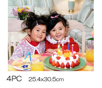 高品質フジカラープリント デジカメプリント 春の新作続々 4切 ※ラッピング ※ 4PC305x254mm 写真現像