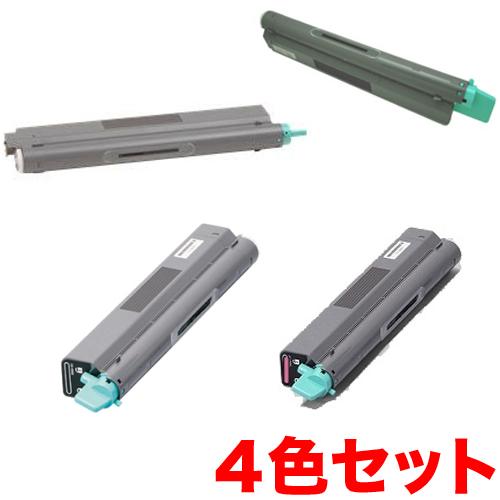 カシオ用 N30-TS リサイクルトナー 4色セット N30-TS-N 【メーカー直送品】 N3000/N3500/N3500-SC/N3600