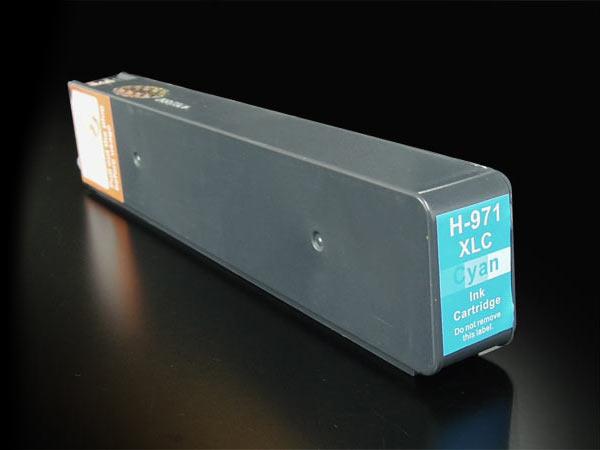 CN626AA HP用 HP971XL 互換インクカートリッジ 顔料 増量 シアン 増量顔料シアン